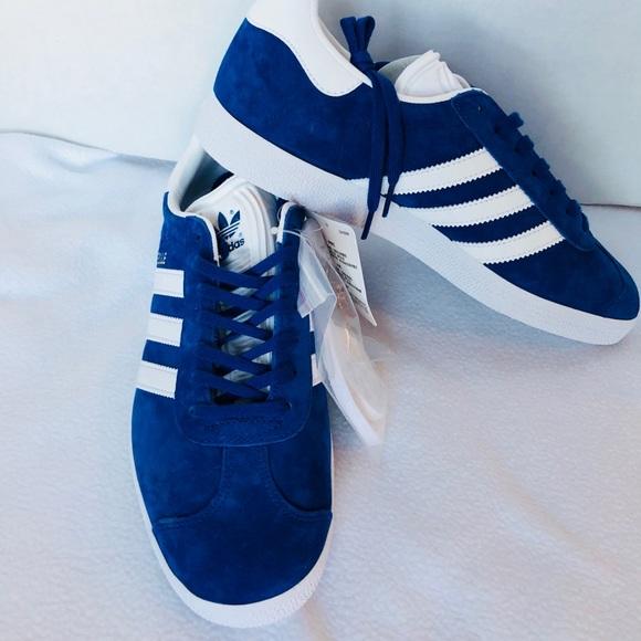 Adidas Mens Gazelle Royal Blue Sz 8